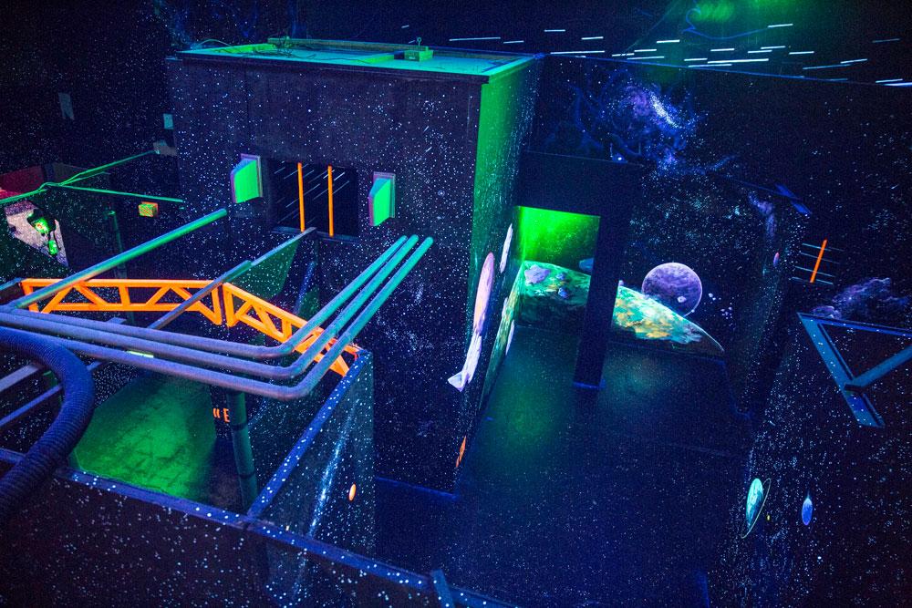 revolution laser tag arena